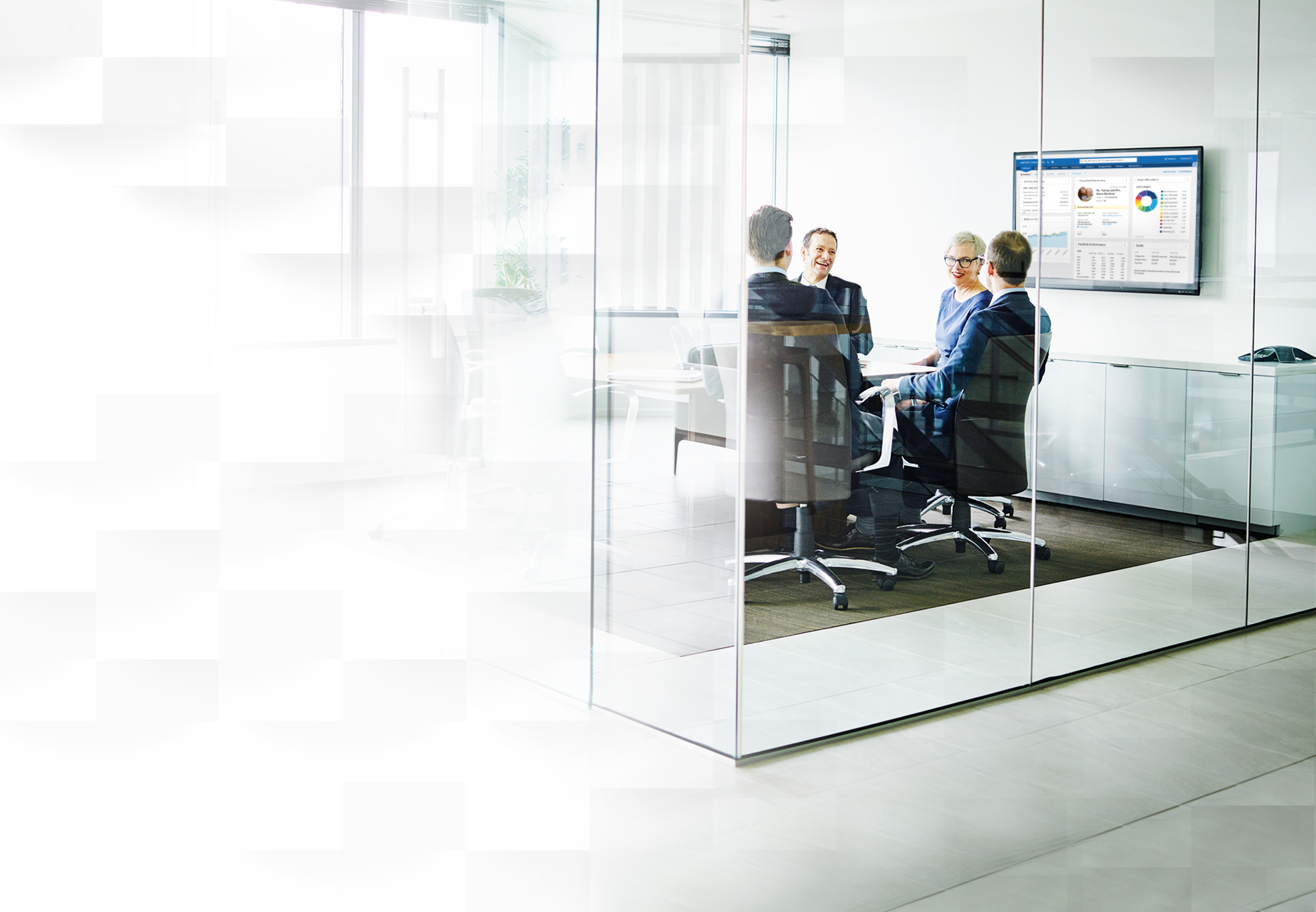 Executives in a meeting